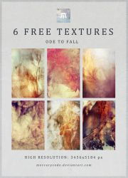Free Texture Pack 21 - Ode to Fall by mercurycode