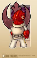Mini Ackbar color by redeve
