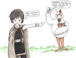 Not a chicken... by Kahlan4