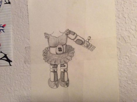 Unfinished Circus Baby by CircusBabyIsEnnard