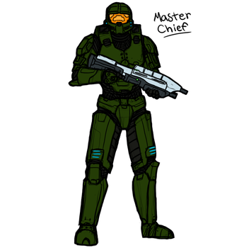 Master Chief by maxviolence