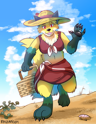 [Commission] Vera on the Beach by raizy