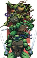 Turtle Power! by Dan-the-artguy