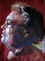 grandmother1 by Benbe