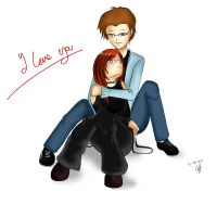 me and my love by Hermes04