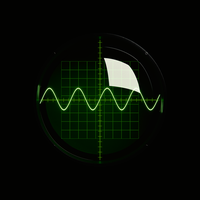 Oscilloscope Display by JoaoYates