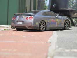 Panty and Stocking Nissan GT-R 6 by DenWingZero