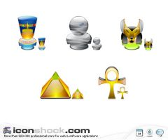 Egypt Icons by Iconshock