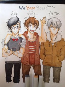 We Bare Bears (Humanized Version) by ScissorBoy1995