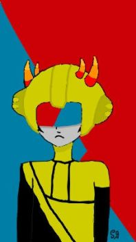 Mituna Captor Fanart(Homestuck) by Shotgungamer8