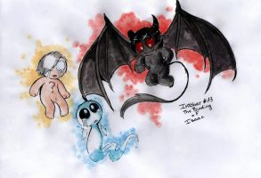 Inktober 13 - The Binding of Isaac by Vishnya-Azraq
