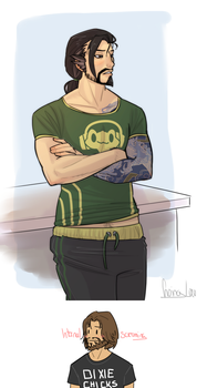 Casual Hanzo by VolverseLoco