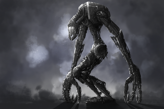Colossal Robot by Isural
