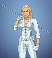 White Canary (Earth-27) commission by phil-cho