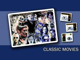 Classic Movies Wallpaper - FS by karthik82