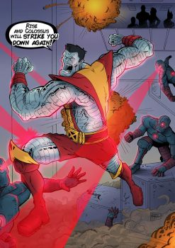 Rise and Colossus will strike you down again! by RHOM13