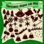 Christmas shapes by roula33
