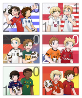 APH - 2010 World Cup 1st round by ArchaosTeryx