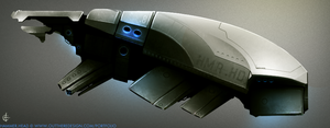 Concept Ship - Hammer Head by outtheredesign