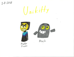 UNKY - Master Frown and Brock by worldofcaitlyn
