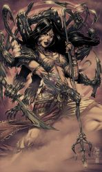 Witchblade annual 2010 by NeerajMenon