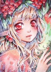 aceo 148 Lychee girl by MIAOWx3