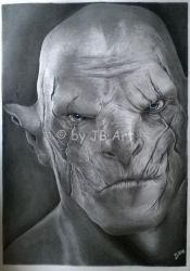 Azog - The Defiler by CDeathhound
