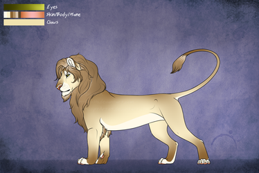 Handsome Male Lion Character [AUCTION] [CLOSED] by TheAdoptArtist