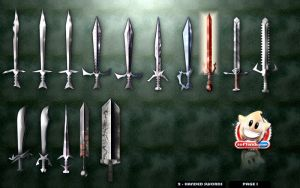 Order Game - Swords, Items by softendo