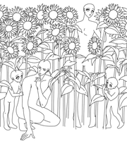 Base 052: In sunflowers by sim-base