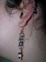 Cuff and earring by stardove3