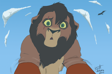 Kovu-Just Like You .:Contest:. by JustAutumn