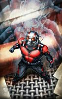 ANTMAN colored by grandizer05