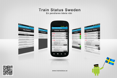 Train Status Sweden by Syrligt
