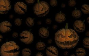 Halloween Pumpkins Wallpaper by noistromo