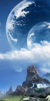 Above the clouds by Bitfluent