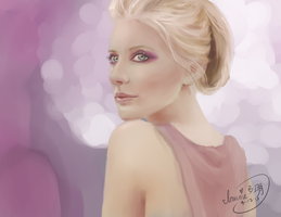 Looking - Paint Sketch 2013-7-13 by iamniquey