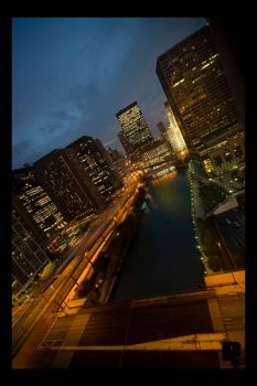 Downtown Chicago by CathieHeart
