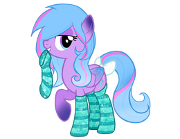 Diamond Spark with socks by Kaiilu