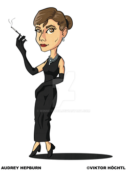 Audrey Hepburn by winnetouch