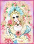 Marie Antoinette Rose of Versailles by Anzel-X