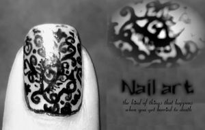 Nail art by elvyDramileth