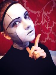 Make-up test by CrisisCosplay