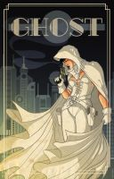 GHOST DECO POSTER by PaulSizer
