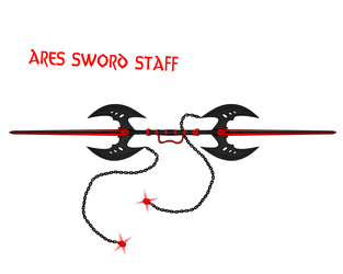 Ares Sword Staff by Flash99GR