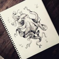 Octopus Queen by agg08