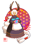 Anya - Merry Christmas 2014 by Willow-San