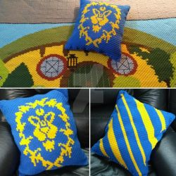 Alliance Pillow by CrochetNinjaCL