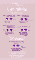 Eye coloring tutorial by Darsiyuu