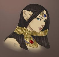 Egyptian Cat Concept by Horus-Goddess